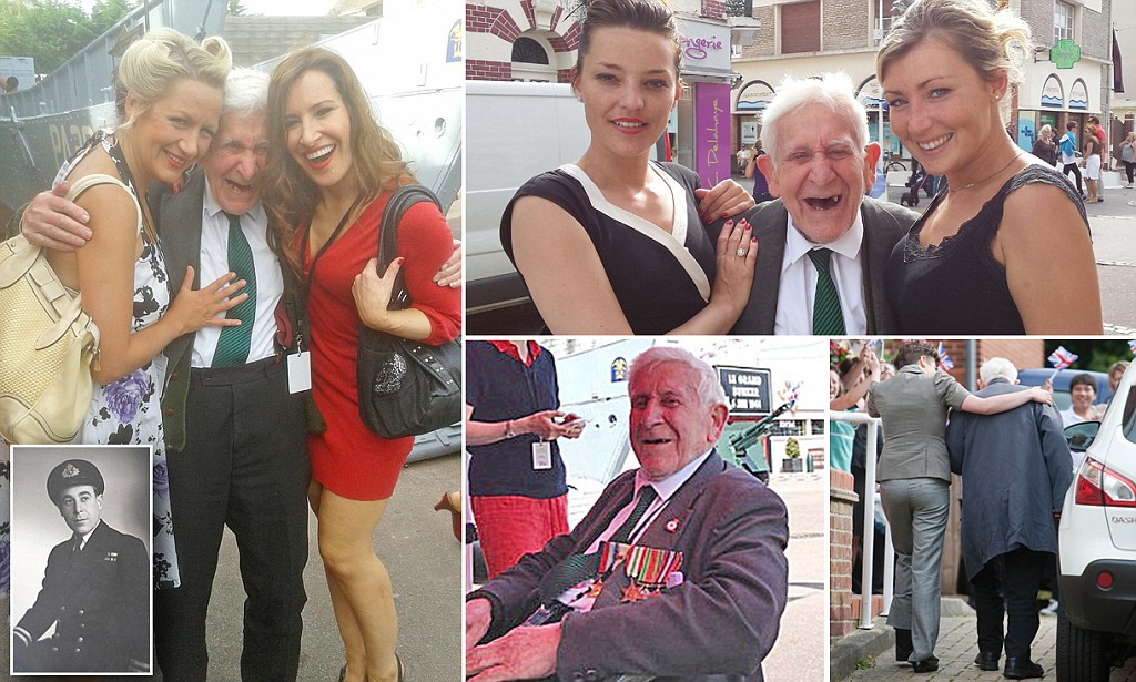 D-Day: Hove veteran disappears for Normandy trip.